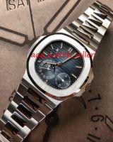 7 색 남성 패션 시계 노틸러스 5712 5712R 5712G 5726 자동 무브먼트 사파이어 크리스탈 스테인레스 스틸 316L 럭셔리 남성 시계