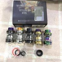 Clone Kylin II RTA Austauschbare Behälter Vaporizer Atomizer 5ml Kapazität Top Füllharz Drip Tip Fit Vape Mods 1