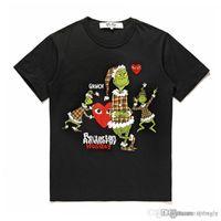 2018 COM großhandel Neue Beste Qualität CDG Neue TARO OKAMOTO JAPAN Limited Spiel Herz T-stück Urlaub T-shirt
