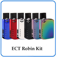 Original ECT Robin Pod Kit Electronic Cigarette VV Box Mod K...