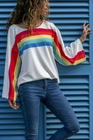 European and American women' s new street fashion T- shir...