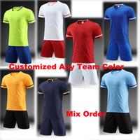 Hombres 2019 camisetas de fútbol Madrid ronaldo MBAPPE Uniformes Camiseta de fútbol 2019 messi Camisetas de fútbol Jersey Clientes orden de enlace