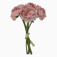 الاصطناعي روز زهور الفاوانيا باقة للزينة الزفاف 5 رؤساء الفاوانيا الزهور وهمية ديكور المنزل الحرير الكوبية الزخرفية الزهور