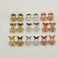 Multi Style Stud Earring Aid Oro Plata Mujeres Ear Stud Buckle Helper Holder Wholesale epacket envío
