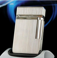 Classic Brushed Metal S. T Ligne 2Lighter Ping Sound GreyST L...