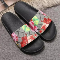 Designer Shoes Men Women Sandals Wide Flat Slipper with Thic...
