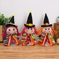 Bolsas de muñecas de dulces de Halloween Bolsas de regalos de dulces de Halloween para niños Accesorios decorativos Bolsa de muñecas de dibujos animados Bar KTV Decoraciones de escritorio