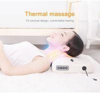 Cou Masseur Cervical Masseur Taille Épaule Dos Électrique Multifonction Massage Oreiller Ménage Coussin De Massage Complet Du Corps