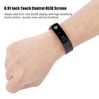 C07 impermeable OLED Display Smart Sport pulsera Fitness Tracker pulsera
