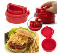 Hamburger Manuel Forms Press Burger Galettes Maker presse chef Côtelettes Stuffed Hamburger Mold Grill Outils de cuisine Gadgets naruto