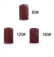 Nail Art lixar rolo de papel cortadores Para Manicure Remover Gel unha broca elétrica Grinding Areia Anel Bit Polimento Define HIAISB