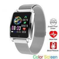 Smart Watch AK18 Men Women Heart Rate Bracelet Sleep Monitor...