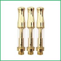 OEM логотип сервис Pyrex стеклянный картридж Золотой двойной керамический резервуар для катушки CE3 Pyrex распылитель бак Vape Pen картриджи золотой 92a3