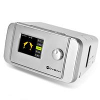 MOYEAH CPAP ronco máquina de respiração dispositivo portátil com máscara de CPAP nasal Strap tubo de filtro saco para a apnéia do sono