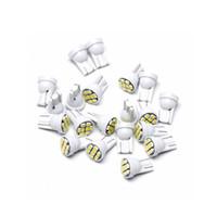 T10-3020-8smd LED клинья салона Инструмент для чтения Свет Камера двери свет LED Сферическая 12V 24V Белый