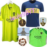 Calidad tailandesa 2018 2019 20 Boca Juniors INICIO Tercera camiseta de  fútbol 18 19 GAGO OSVALDO 43f88bc951bbc