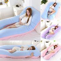 Yeni Hamile Kadınlar Vücut Pamuk Yastık U Masa Annelik Yastıklar Gebelik Yan Uyurlar Bedding İçin Destek Yastığı Sleeping