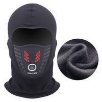 Été Hiver chaud moto coupe-vent visage Masque facial Motocross masqué Cs Masque extérieur chaud vélo thermique Fleece Balaclava Nouveau