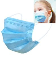 Child Kids Disposable Face Masks 3 Layer Earloops Face Masks...