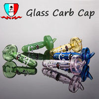 Colored glass bubble carb cap dia 27mm Universal Glass Carb ...