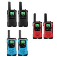 2pcs Multi-Channels 2-Wege-Radio Walkie Talkie Mini Handheld Kinder elektronisches Spielzeug