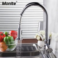 DE Home Luxury New bland Pull Out Kitchen Faucet Deck Mount ...
