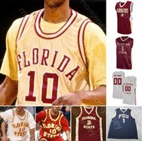 Custom Florida State Seminoles FSU Basketball Jersey NCAA College Trent Forrest Walker Patrick Williams Malik Osborne