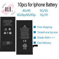 10PCS Battery for Apple iPhone 4 4S 5G 5S 6G 6S 6plus 6s Plu...