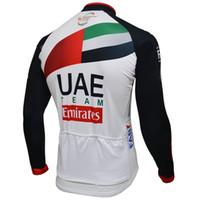 SPRING SUMMER فقط جاكيتات بملابس نسائية ملابس طويلة جيرسي ROPA CICLISMO 2018 UAE PRO TEAM SIZE: XS-4XL