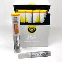 Free DHL Cartridges Vape TKO EXTRACTS 1. 0ml carts cell Pyrex...