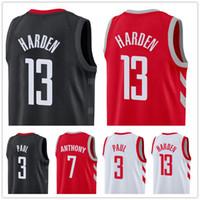 4a9ce9b26c5d New Arrival. 2019 HOT SELL 13 Harden jersey Carmelo 7 Anthony jerseys Chris  3 Paul jerseys Houston jerseys Rockets James