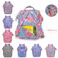 Mummy Backpacks Flamingo Floral Baby Diaper Bags Lily Nappy ...