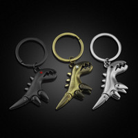 dinosaur keychain cute key ring for women creative 3D key ch...