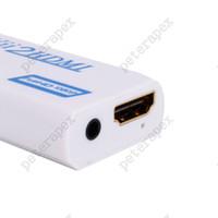 Vbestlife Wii HDMI 1080 P Dönüştürücü Wii2HDMI Adaptörü 3.5mm Jack Ses Video Çıkışı Full HD 1080P Çıktı için HDTV