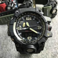 Gwg-1000dc explorer series stylish cool watch multi-functional sport watch resin case dust and sand resistant pin buckle