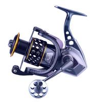 WOEN ASII7000 Tüm metal balıkçılık reel 15 + 2BB paralel Deniz Suyu önleme Çıkrık Frenleme kuvveti 15 kg Balıkçılık dişli