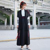Traje Samurai japonés estilo de los hombres Haori mujeres de la vendimia del vestido del kimono de Yukata del partido del traje tradicional de Japón Cosplay Ropa de escena