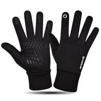 Neue beliebte Herren Winter Halten Sie warmes wasserdichtes Fahren mit touchscreen Handschuhen für Geschenk