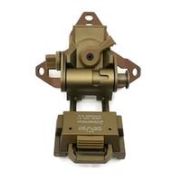 Soporte de casco táctico Base L4G30 Montaje Versión CNC Camión volquete Modelo de visión nocturna Accesorios NVG Cuttlefish
