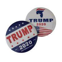 جديد ترامب 2020 دبابيس بروش جعل أمريكا العظمى مرة أخرى للرئيس الولايات المتحدة الأمريكية قبة طية صدر السترة دبوس شارات زر مجوهرات بكميات كبيرة