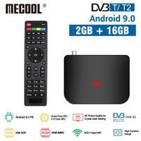 MECOOL M8S Plus DVB T / T2 DVB S / S2 2G 16G Android 9.0 TV Box Amlogic S905X2 4K H.265 2.4G WiFi Set Top Box