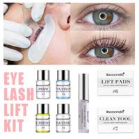 Professional cílios Elevador Kit Eye Lashes Perming Kit Perm com Rods Glue Salon Home Use Lash Ferramentas de elevação