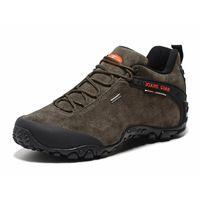 Mężczyźni buty turystyczne Sneakers Wodoodporne oddychające buty turystyczne na zewnątrz wspinaczki górskie Trekking Buty kostki Hunting Buty