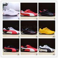 1c7d403384c Wholesale chignon online - 2018 Men And Women Shoes Autumn Winter Sneakers  Leather Skin Badminton Shoes