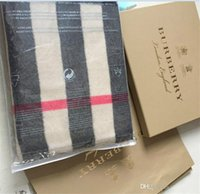 Top designer cashmere scarf fashion brand plaid printed scarves thick imitation cashmere scarves fashion men and women's scarves 200*70