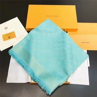 Popular female 140*140cm scarf shawl gold and silver line mo...