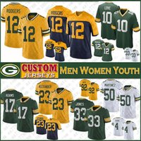 12 Aaron Rodgers Green
