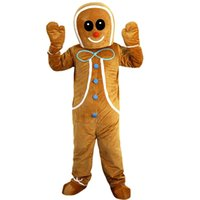 2018 New high quality Gingerbread man Mascot costumes for ad...