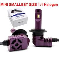 1 세트 H7 SMALL 미니 SIZE P10 LED 헤드 라이트 H4 H8 H9 H11 H16JP 9005 9006 9012 HB3 / 4 HIR2 D1S / D2S / D3S / D4S PSX24 / 26 P13 1 : 1 전구 35W 5200lm 6K