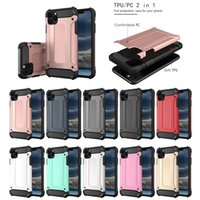 Tough Armor Hybrid Rugged Impact PC TPU Case For iPhone 11 Pro MAX 2019 XR XS Samsung Note 10 10+ 5G S10 A10 A20 A30 A40 A50 A60 A70 A2 Core